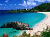Overview of Waimea Bay on the North Shore, Waimea, U.S.A. 写真プリント : アン・セシル