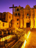 Iglesia De La Merced at Sunset, Antigua Guatemala, Guatemala Photographic Print by Ryan Fox