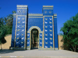 Reconstructed Ishtar Gate, Babylon, Babil, Iraq Photographic Print by Jane Sweeney