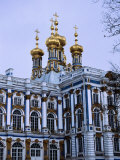 Grand Palace or Catherine Palace in Tsarskoye Selo, St. Petersburg, Russia Photographic Print by Martin Moos