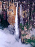 Aerial View of Angel Falls, Angel Falls, Venezuela Photographic Print by Krzysztof Dydynski
