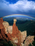 Rainbow Over Bryce Canyon, Bryce Canyon National Park, USA Photographic Print by Kevin Levesque