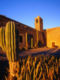 Mission Santa Rosalia De Mulege, Built in 1770 Overlooking the Santa Rosali River, Mulege, Mexico Photographic Print by Brent Winebrenner