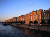 Exterior of Winter Palace on Neva River, St. Petersburg, Russia Photographic Print by Jonathan Smith