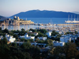 Castle of St. Peter on Left, Bodrum, Turkey Photographic Print by Peter Ptschelinzew