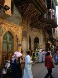 Street in Great Bazaar Khan Al-Khalil, Cairo, Egypt Photographic Print by Mark Daffey