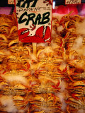 Crabs for Sale at Pike Place Market, Seattle, Washington, USA Photographic Print by Lawrence Worcester
