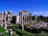 Roman Forum Ruins., Rome, Lazio, Italy Photographic Print by Christopher Groenhout