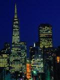 Trans-America Pyramid Building, San Francisco, USA Photographic Print by John Elk III