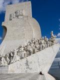 Discovery Monument Padrao Dos Descobrimentos, Belem, Lisbon, Portugal Fotografisk tryk af Greg Elms