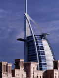 Traditional and Modern Hotels, Dubai, United Arab Emirates Photographic Print by Phil Weymouth