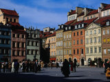 Stare Miasto, Old Town Square, Warsaw, Poland Photographic Print by Izzet Keribar