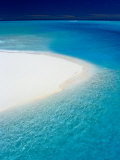 White Sand and Blue Water, New Caledonia Photographic Print by Jean-Bernard Carillet