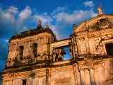 Exterior Detail of Leon Cathedral, Leon, Leon, Nicaragua Photographic Print by Eric Wheater