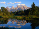 Teton Range, Grand Teton National Park, USA Photographic Print by John Elk III