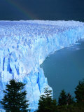 Overhead of Perito Moreno Glacier with Rainbow, Los Glaciares National Park, Argentina Photographic Print by Wes Walker