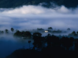 Low Cloud Surrounding House Within Forest, Sagada, Mountain, Philippines, Ilocos Photographic Print by Richard I'Anson