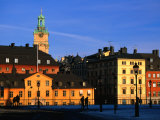 Storkyrkan and Gamla Stan Seen from Riddarholmen Island, Stockholm, Sweden Photographic Print by Jonathan Smith
