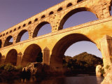 Pont Du Gard, Languedoc-Roussillon, France Photographic Print by Diana Mayfield