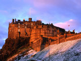 Edinburgh Castle Seen from Johnston Terrace, Edinburgh, United Kingdom Photographic Print by Jonathan Smith