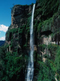 Bridal Veil Falls, Govetts Leap Lookout, Near Blackheath Blue Mountains National Park, Australia Photographic Print by Ross Barnett