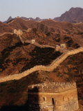 Great Wall of China Near Gubeikou, Jinshanling, Beijing, China Photographic Print by Diana Mayfield