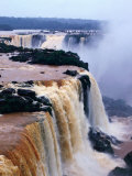 Iguacu Falls from the Brazilian Side of the Border, Brazil Photographic Print by John Maier Jr.