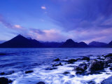 Les Black Cuillin Mountains, île de Skye, Ecosse Papier Photo par Gareth McCormack