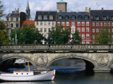 The Marble Bridge Over Frederiksholms Canal, Copenhagen, Denmark Photographic Print by Anders Blomqvist