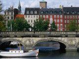 The Marble Bridge Over Frederiksholms Canal, Copenhagen, Denmark Photographic Print by Anders Blomqvist