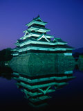 Matsumoto-Jo Castle at Night, Matsumoto, Japan Photographic Print by Martin Moos