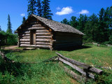 The Rustic Log Wegman Cabin in the Itasca State Park,Itasca State Park, Minnesota, USA Photographic Print by John Elk III