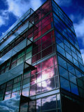 Glass and Steel Architecture of New Copenhagen, Copenhagen, Denmark Photographic Print by Martin Lladã³