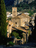 Pollenca Village from the Calvary Steps, Mallorca, Balearic Islands, Spain Photographic Print by David Tomlinson