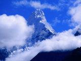 Ama Dablam from Near Tengboche on Everest Basecamp Trek, Everest Base Camp, Sagarmatha, Nepal Photographic Print by Grant Dixon