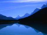 Waterfowl Lake Reflections, Banff, Canada Photographic Print by Rick Rudnicki