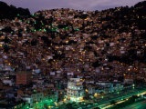 Rocinha is Home to 150,000 People, the Largest Favela (Slum), Rio de Janeiro, Brazil, Photographic Print