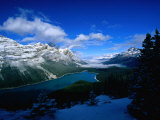 Banff National Park in Alberta, Banff National Park, Canada Photographic Print by Mark Newman