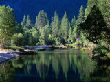 Merced River, Yosemite National Park, USA Photographic Print by John Elk III