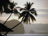 El Nido Pangulasian Island at Dusk El Nido, Palawan, Philippines Photographic Print by John Borthwick