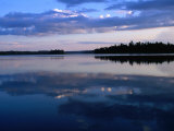 Sunset on Lake Itasca, Itasca State Park, USA Photographic Print by John Elk III