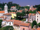 Buildings and Rooftops of City, Sintra, Portugal Photographic Print by Bethune Carmichael
