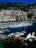 Boats in Port, Monte Carlo, Monaco Photographic Print by Neil Setchfield