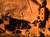 Apartment Style Architecture of Mesa Verde National Park, Mesa Verde National Park, USA Photographic Print by Mark Newman