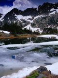 Semi-Frozen Missouri Lakes, Holy Cross Wilderness, Colorado, USA Photographic Print by Gareth McCormack