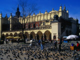 Sukiennice Arcaded Cloth Hall on Main Market Square, Krakow, Malopolskie, Poland Photographic Print by Krzysztof Dydynski