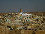 Cityscape, Ghardaia, Algeria Photographic Print by Peter Ptschelinzew