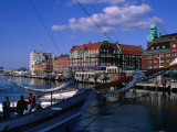 Malmo Harbour, Malmo, Skane, Sweden Photographic Print by Anders Blomqvist