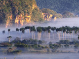 Morning Mist Over Vinales Valley, Pinar Del Rio, Cuba Photographic Print by Alfredo Maiquez