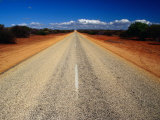 Outback Road, Monkey Mia National Park, Western Australia, Australia Photographic Print by Richard I&#39;Anson